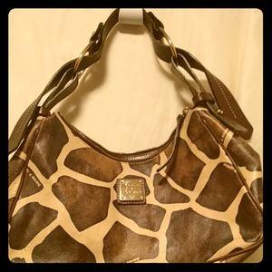 Dooney & Bourke Giraffe print bag